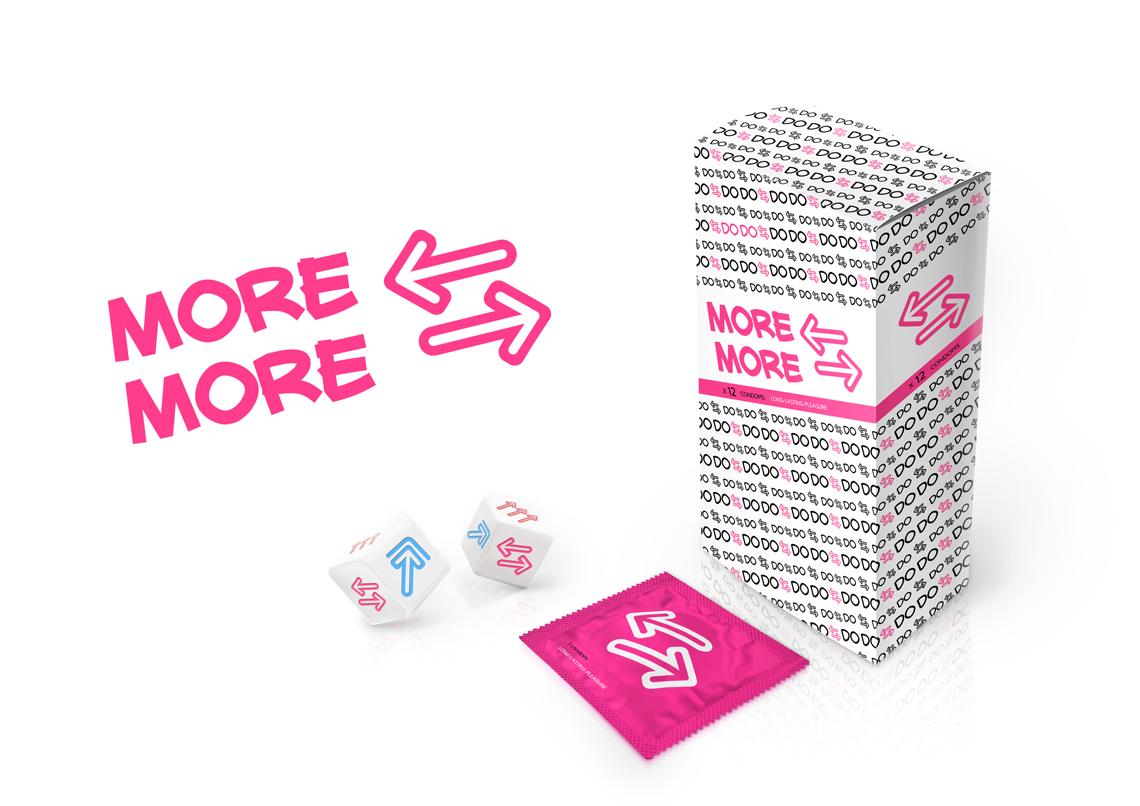Фирменный стиль презервативов DO DO от креативного агенства Irons