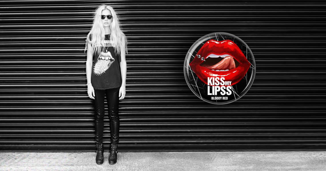 Нейминг блеска для губ KISS MY LIPS