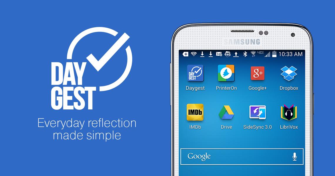 Нейминг мобильного приложения DayGest от креативного агенства Irons